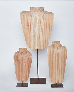 Organic Hande Made 3 bust set.jpg