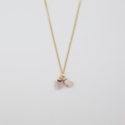 Hester Necklace Pink