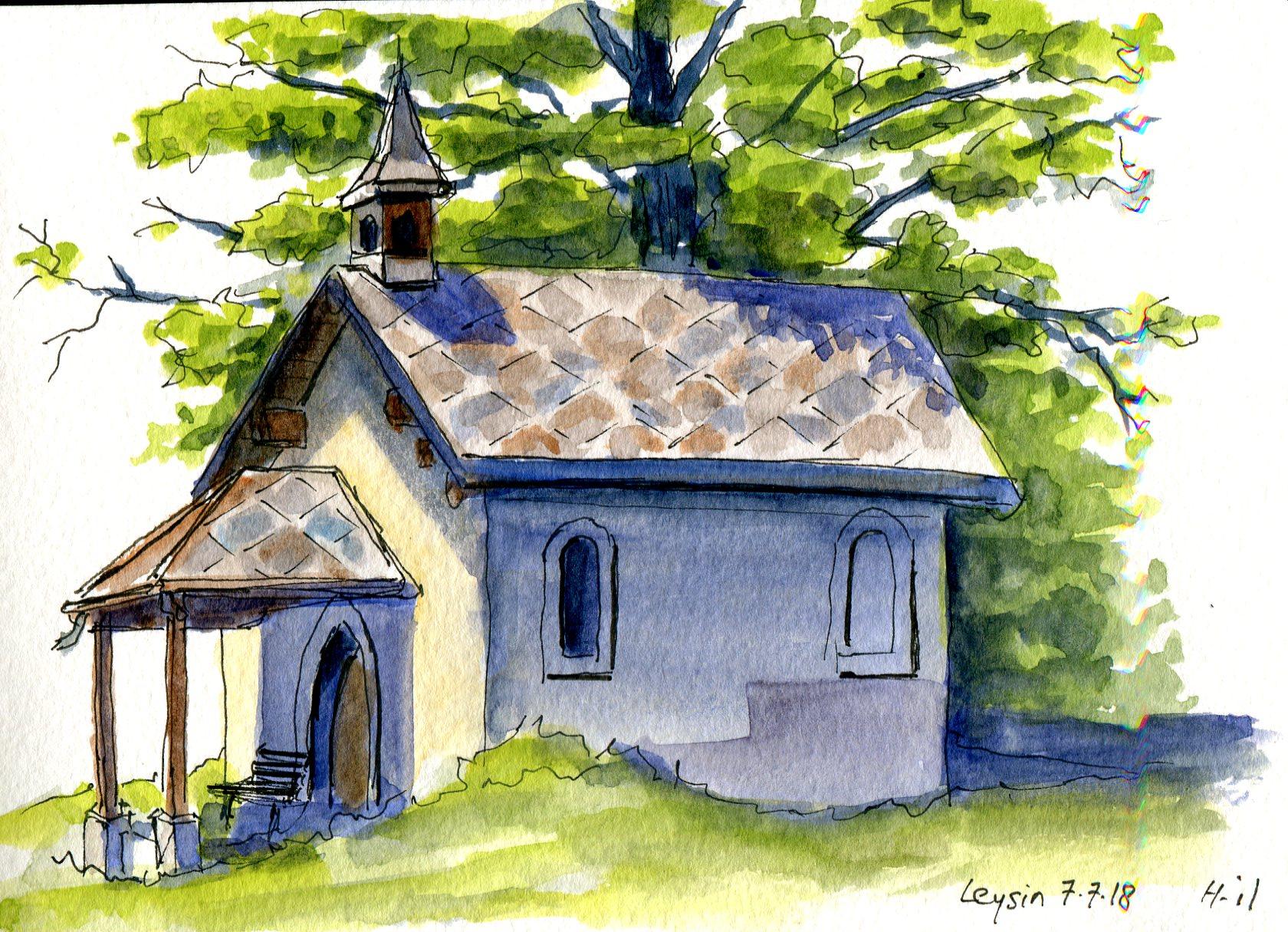 chapelle Leysin