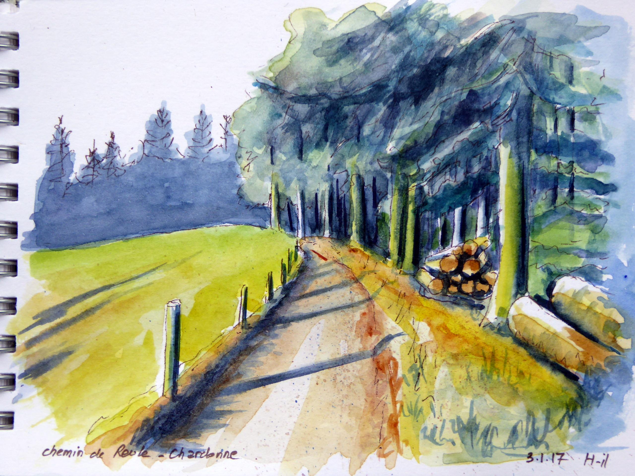 chemin de Reule