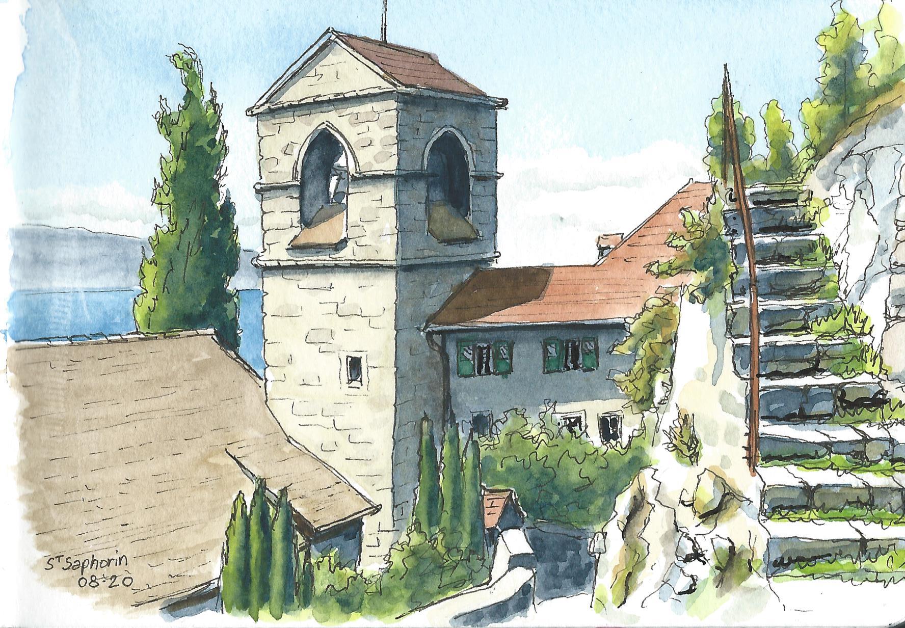 Clocher St Saphorin