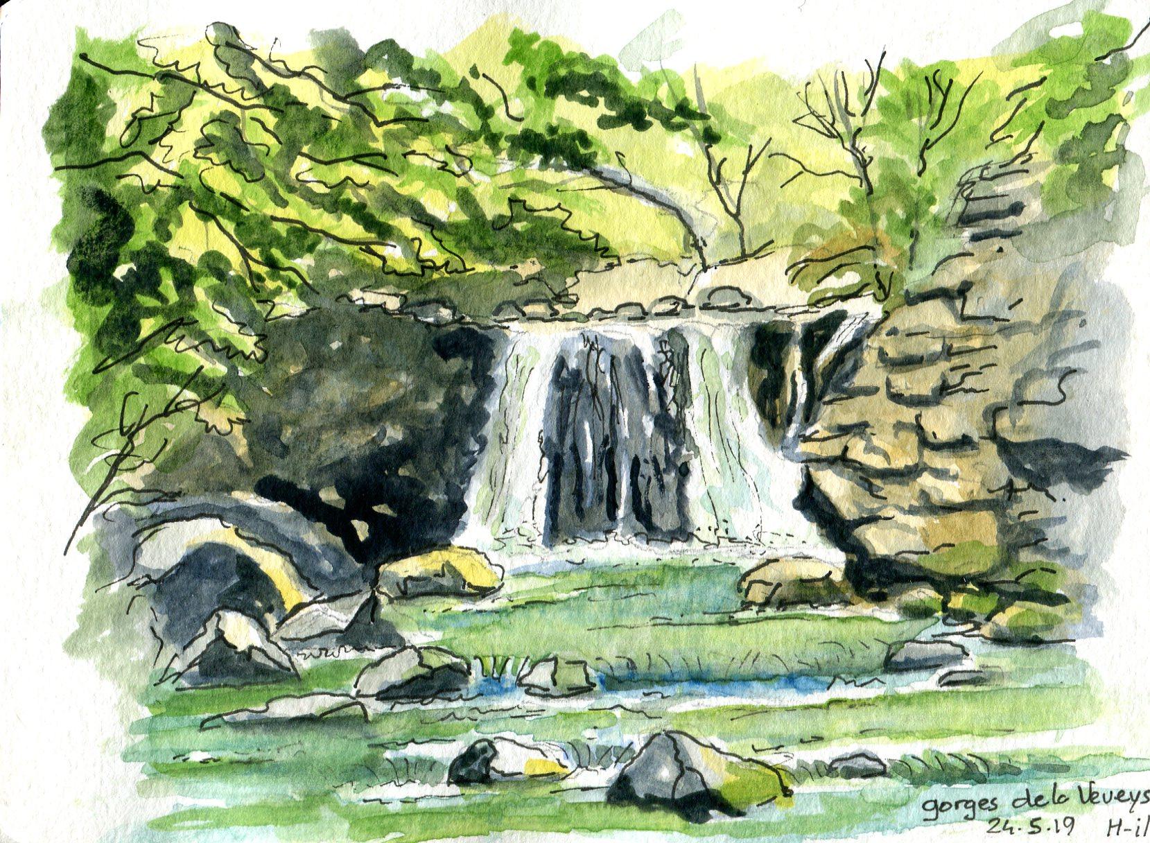 Gorges Veveyse  mai 19