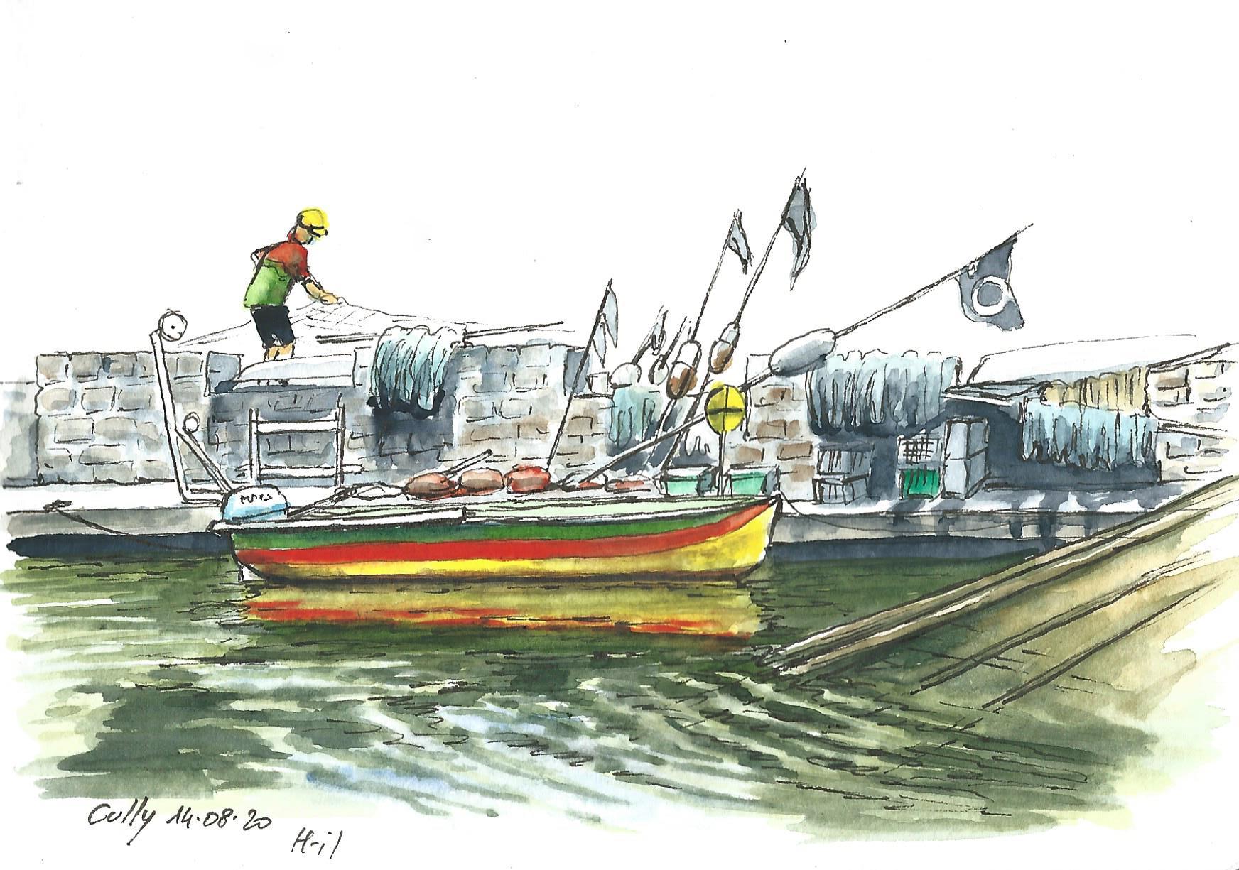 Pêcheur Cully
