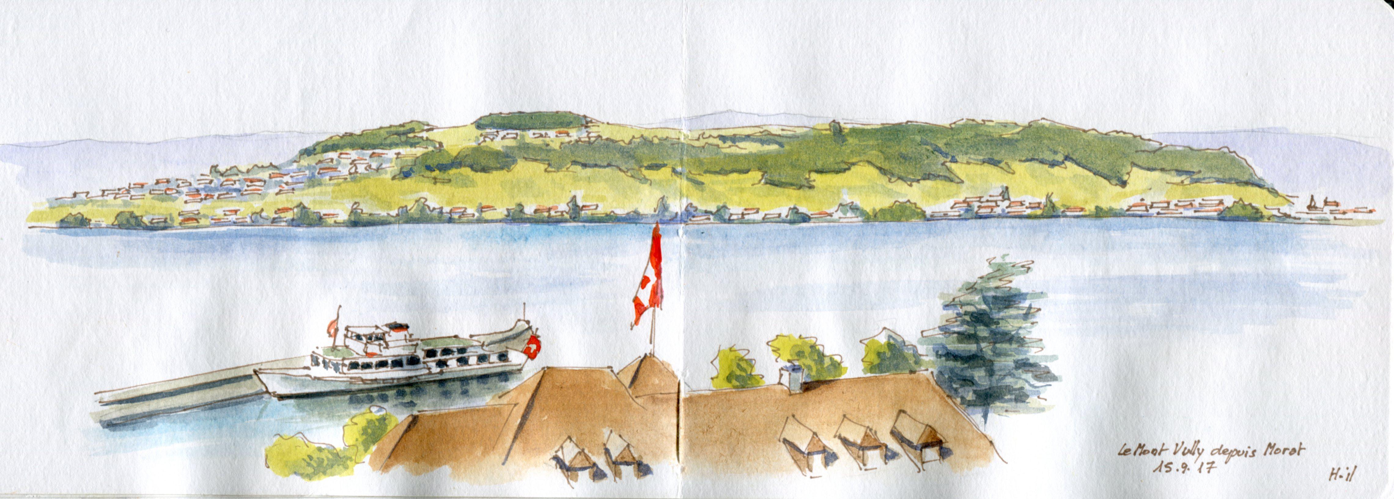 panorama Morat