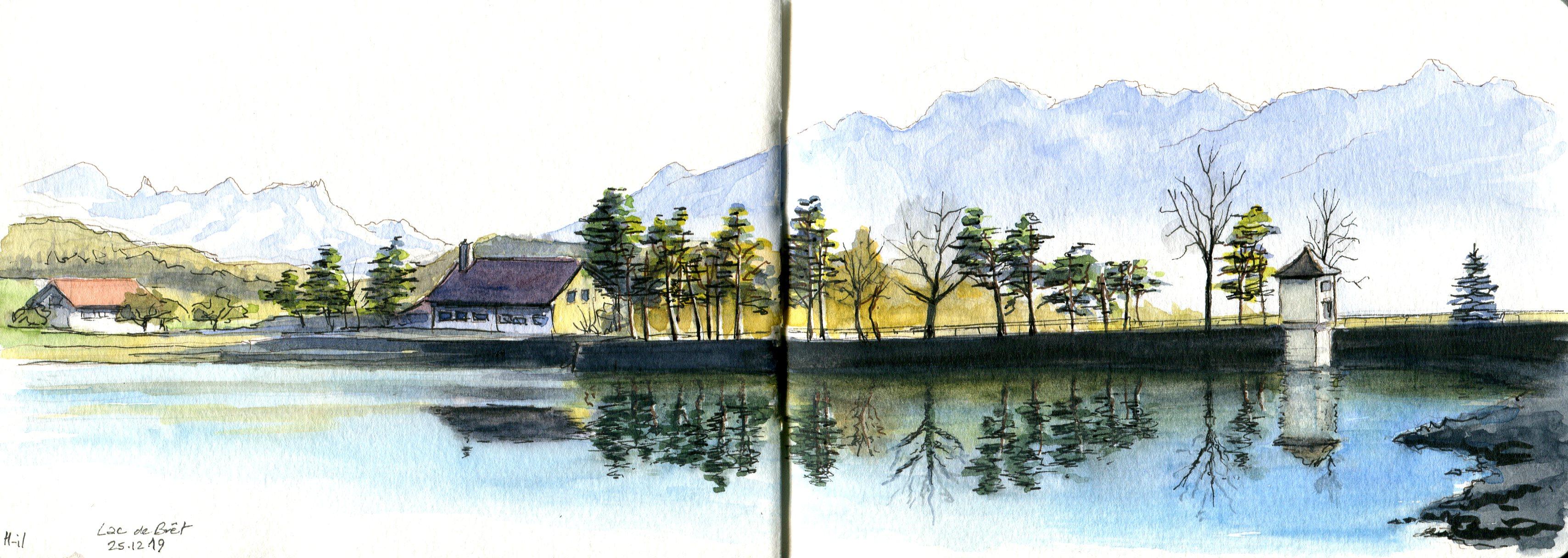 Lac de Bret sud046