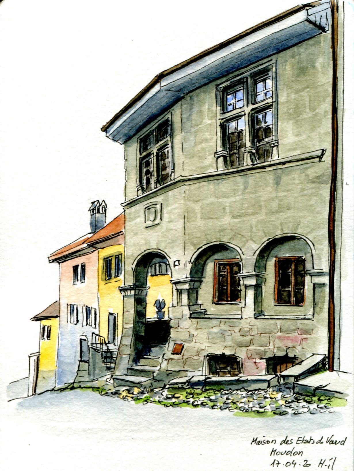 Moudon maison des Etats de Vaud029