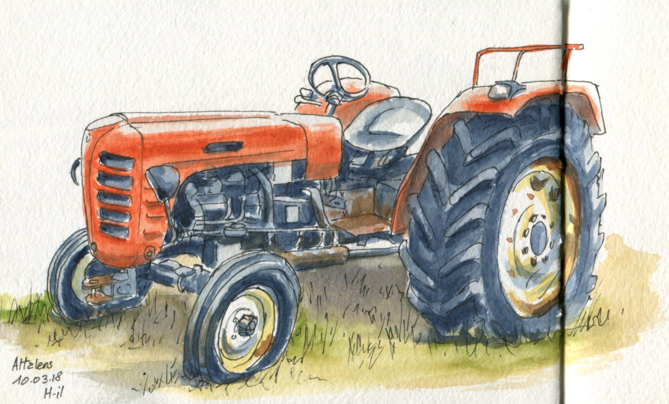 Vieux tracteur004