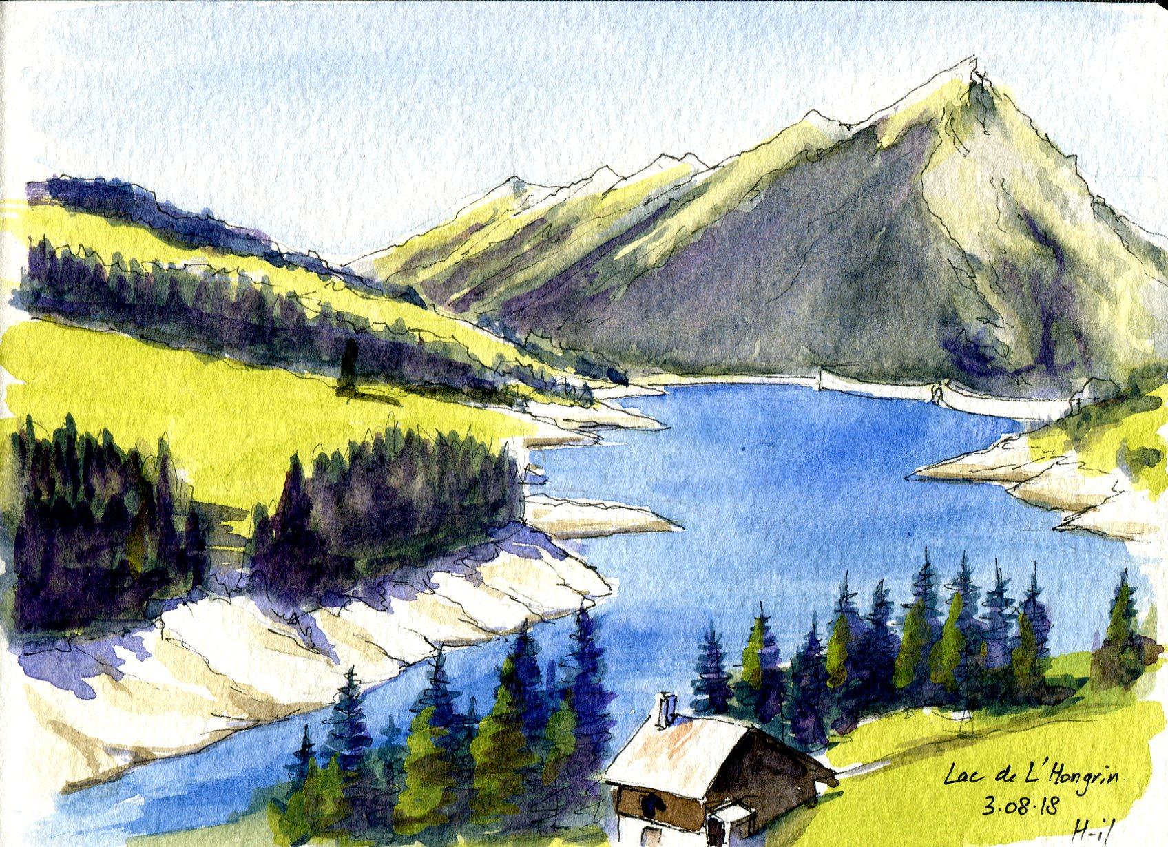 Lac Hongrin