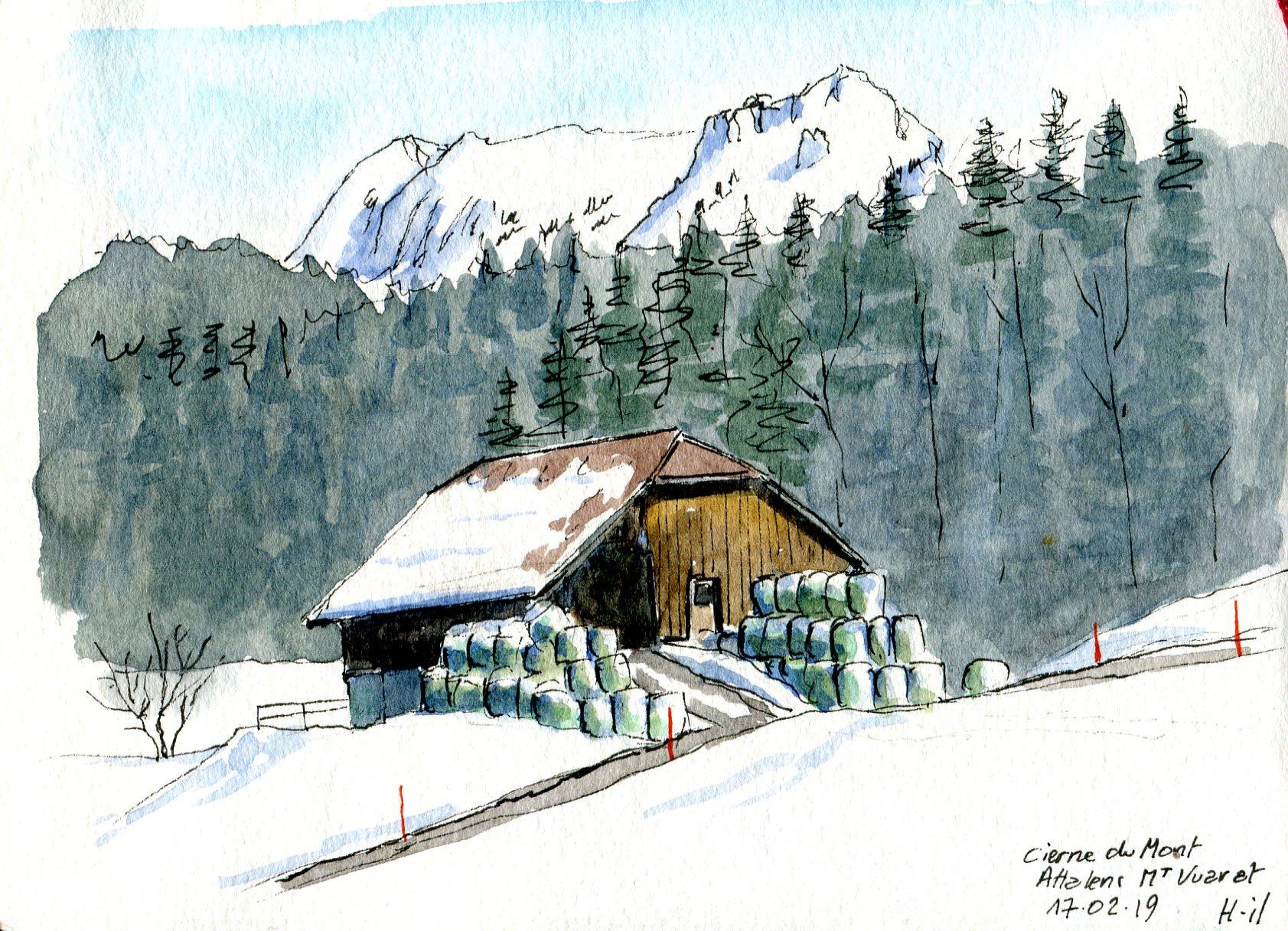 Cierne du Mont