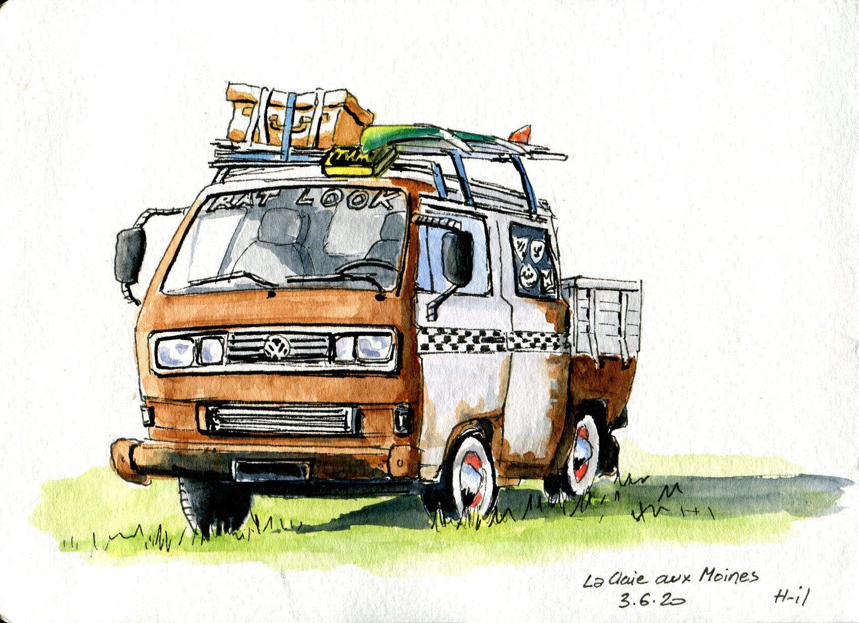 Bus VW010