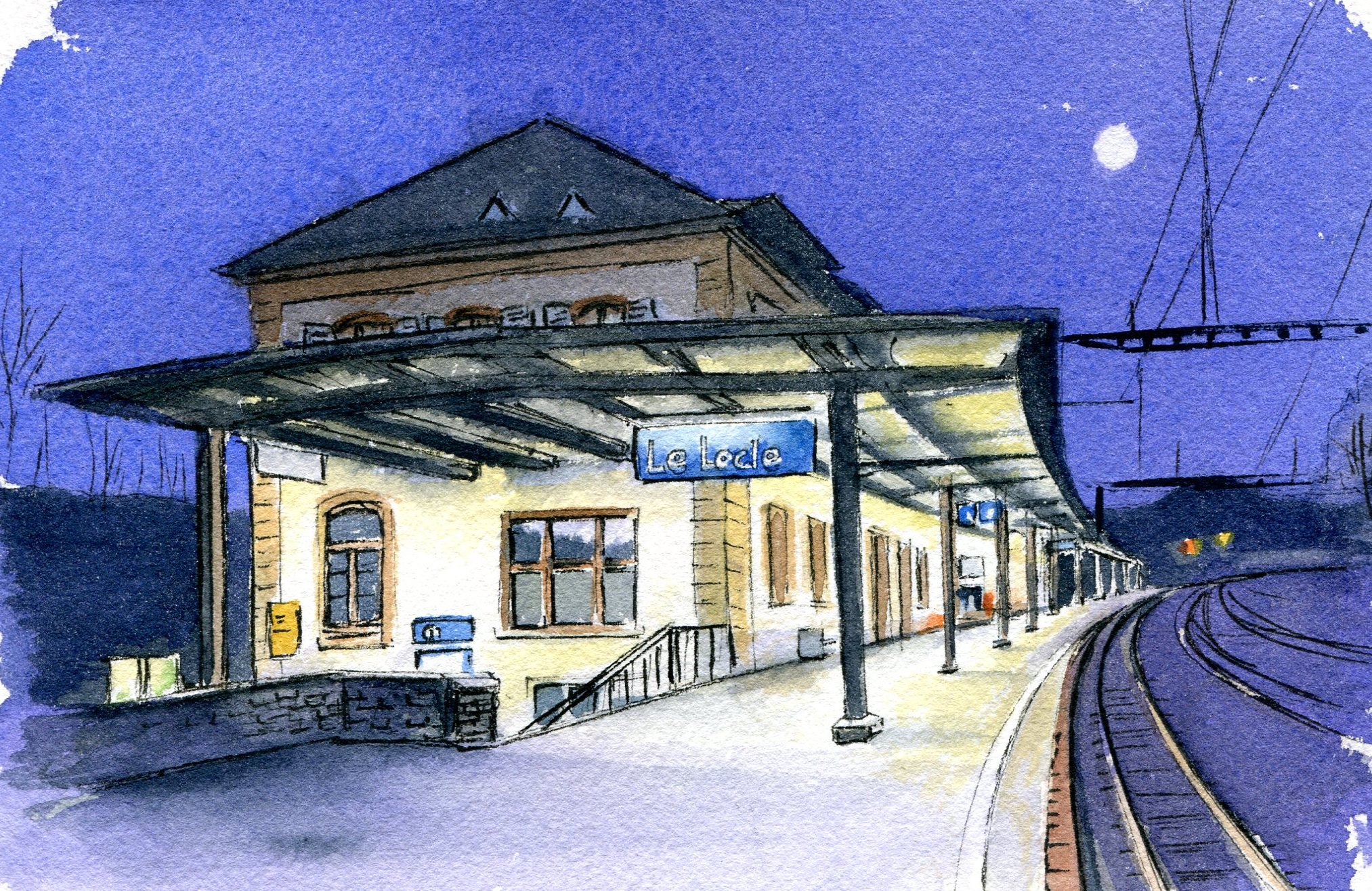 Gare du Locle