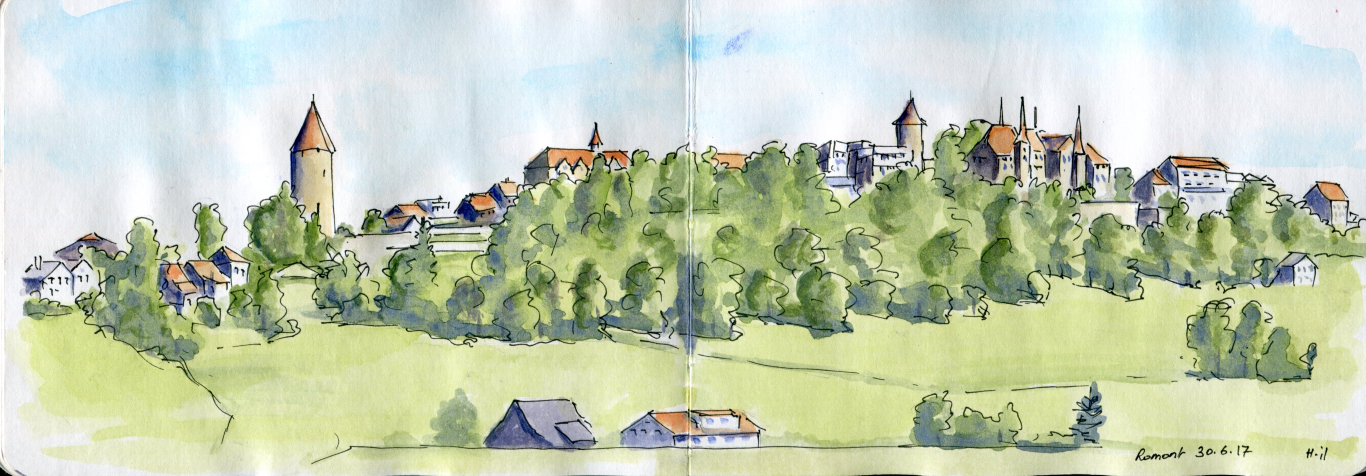 panorama Romont