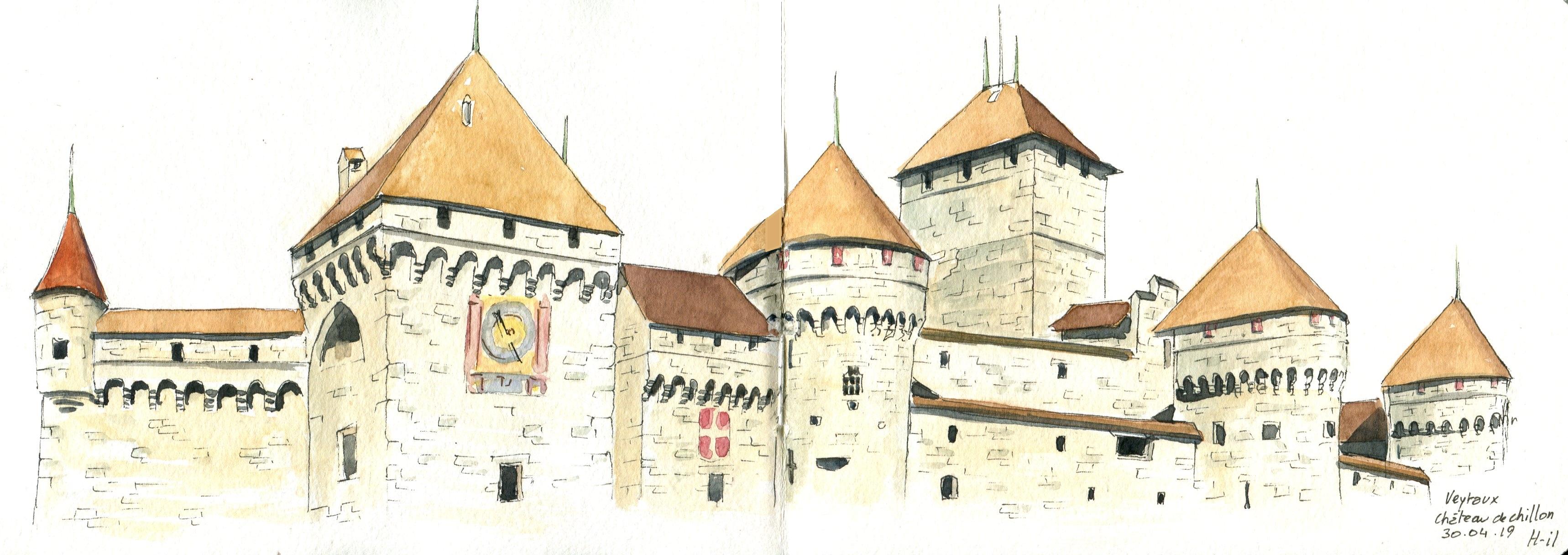 Tours de Chillon