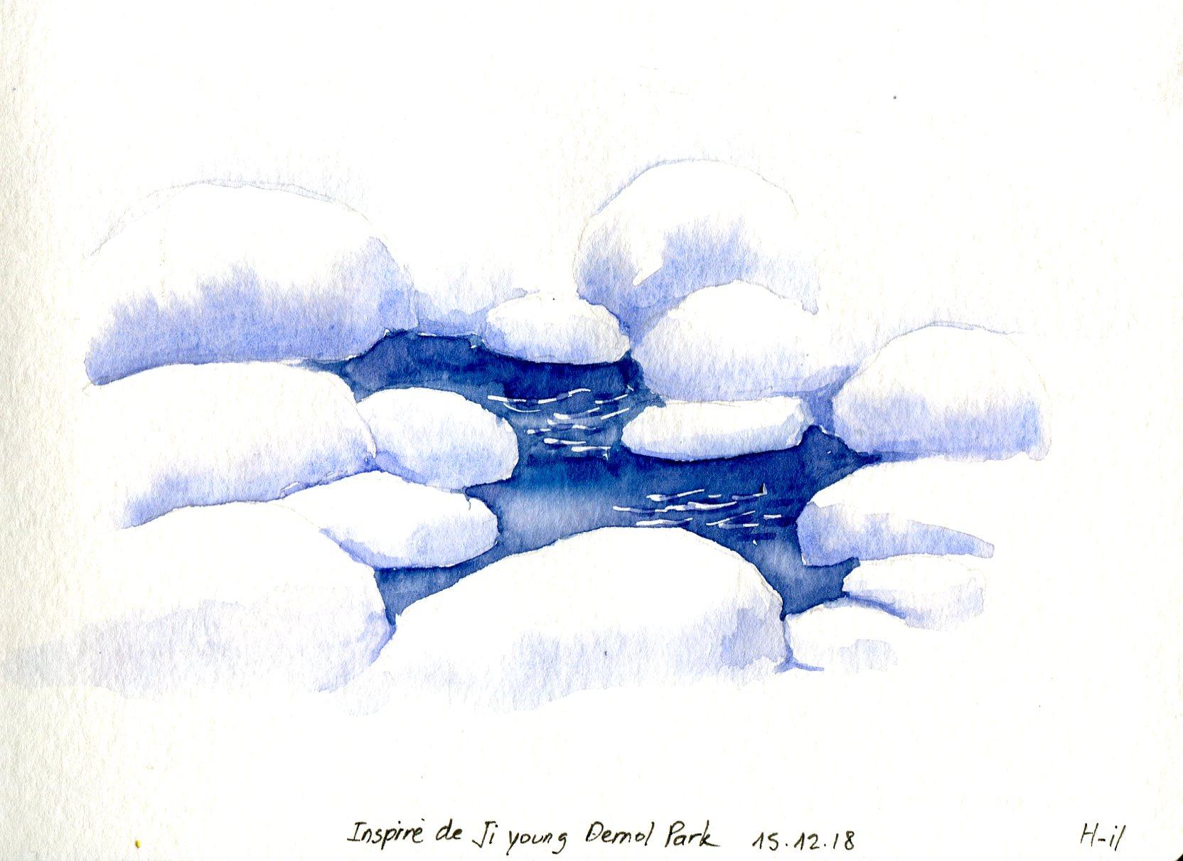 Ruisseau neige009
