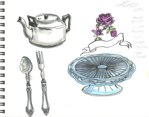 Nanas teatime