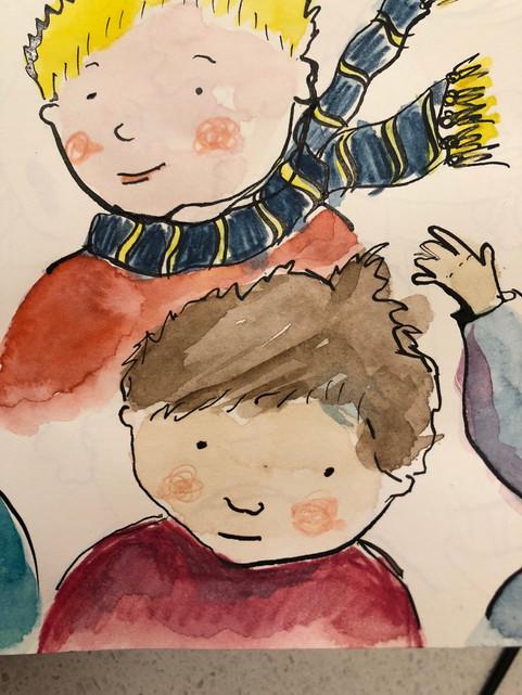 character development - boys