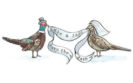 wedding invite comission