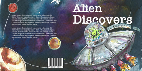 Alien Discovers... (front cover)