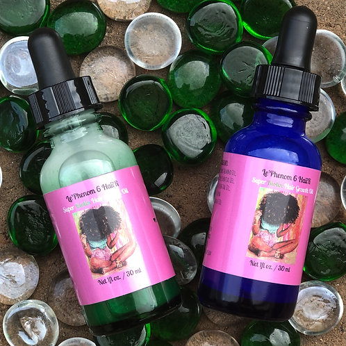 BACK IN STOCK! Super Growth Biotin Scalp Drops