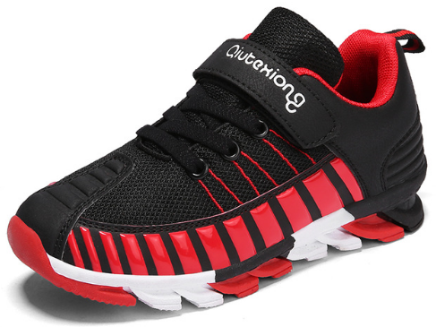 ce4b1bd5d 2018 New Styles Mesh Breathable Stripes Designs Childrens Running Shoes For  Kids
