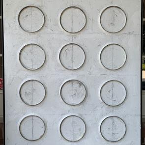 Eons 43 x 49 in steel floater frame