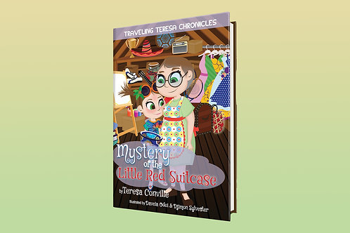 Hardcover- Traveling Teresa Chronicles: Mystery of the Little Red Suitcase