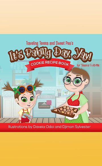 Traveling Teresa and Sweet Pea: It's Baking Day, Yay! Cookie Recipe Book