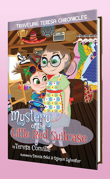 Softcover- Traveling Teresa Chronicles: Mystery of the Little Red Suitcase