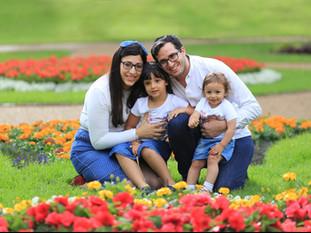 Family Photos in Peel Park Salford