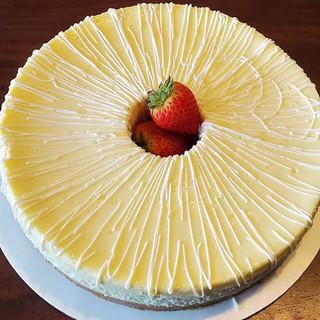 Plain New York Cheesecake