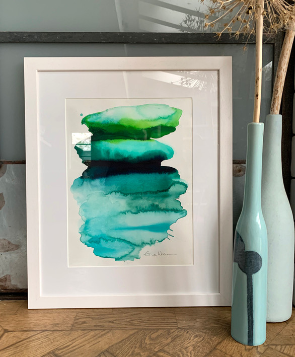 Green vibes framed