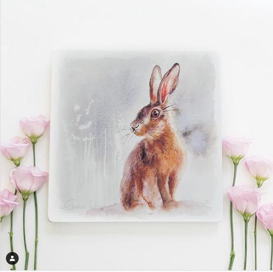 Wild Hare Giclee print