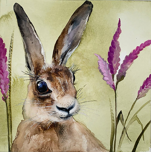 Heather hare original painting