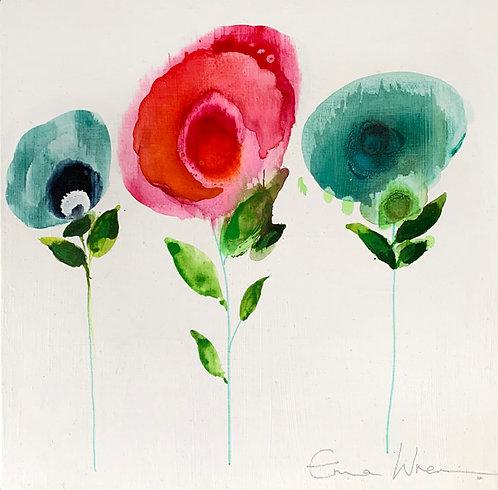 Retro fleur