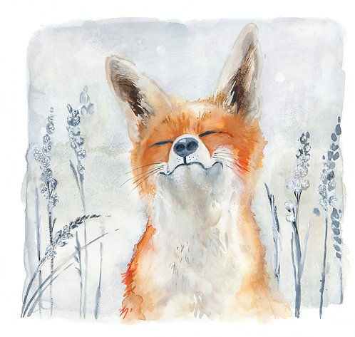 Contented Mr Fox