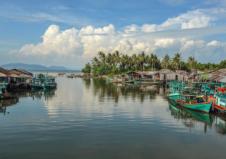Landscape of south Cambodia
