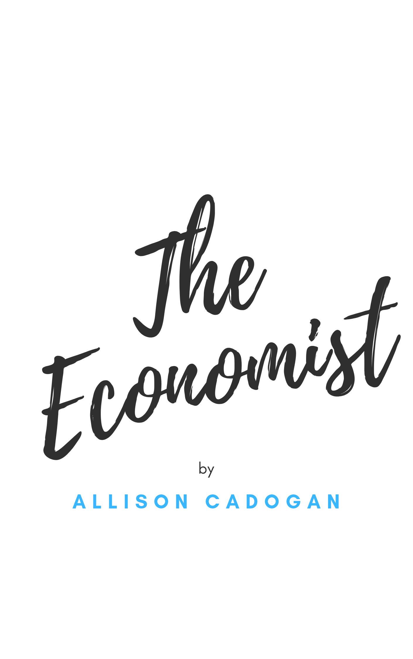 """The Economist"" by Allison Cadogan"
