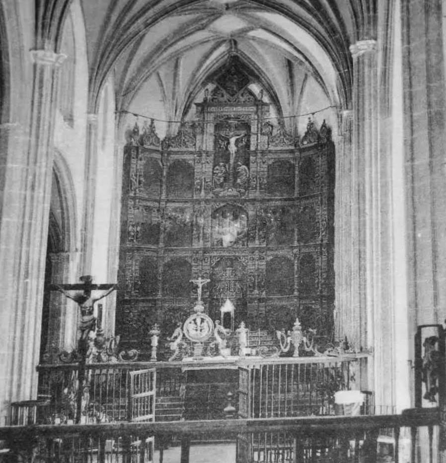 Interior de la Colegiata de Torrijos