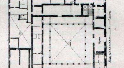 Planta del Palacio de Altamira