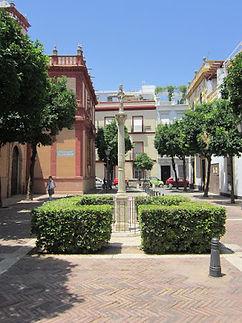 Plaza Doña Teresa Enríquez en Sevilla