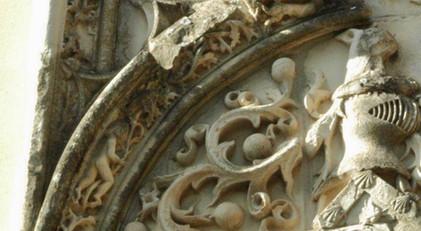 Detalles Portada del Palacio