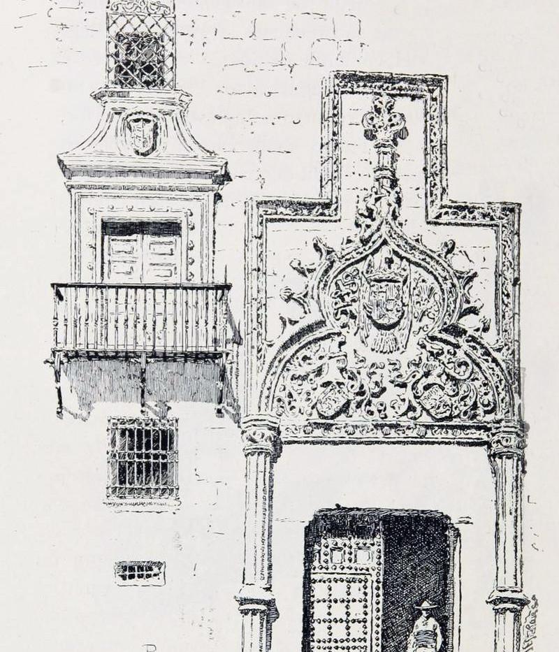 Portada del Palacio de Altamira