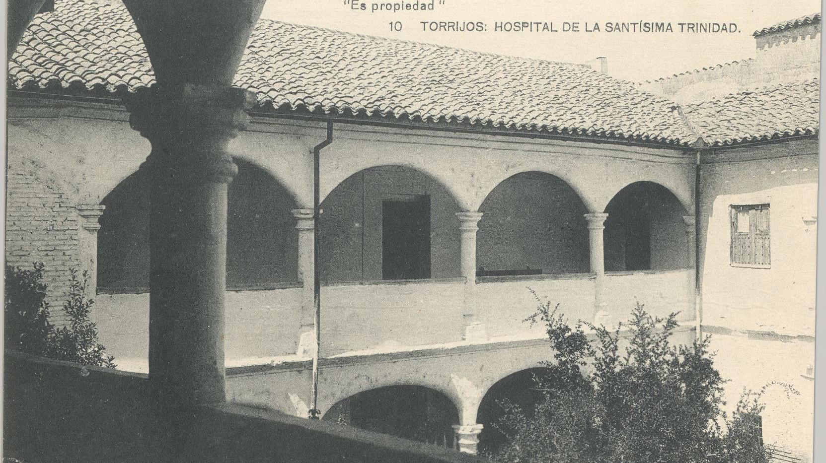 Patio del Hospital Santísima Trinidad