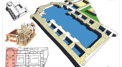 Ilustración Digital del Monasterio