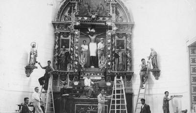 Restauración Capilla del Cristo