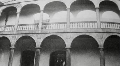 Patio del Palacio de Altamira