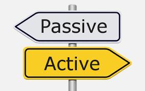 ¿Qué es la gestión activa y gestión pasiva?