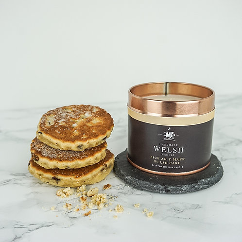 WELSH CAKE TIN CANDLE