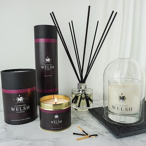 BLACK PLUM & RHUBARB FRAGRANCE SET