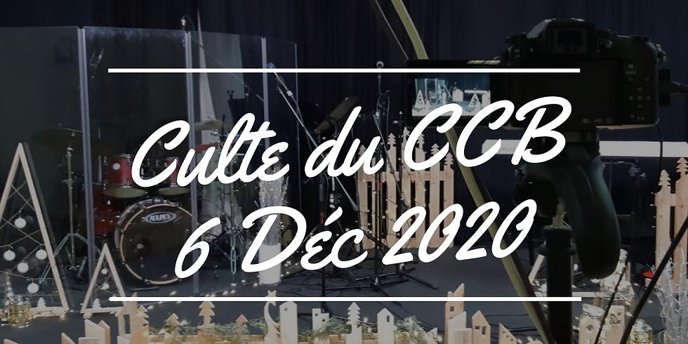 Culte du CCB du 6 décembre 2020